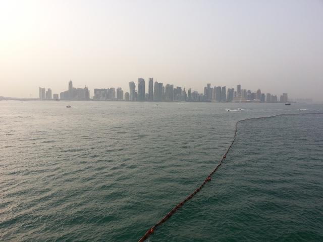 Qatar Doha city skyline